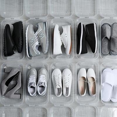 투명 신발 정리함 운동화 박스 보관함