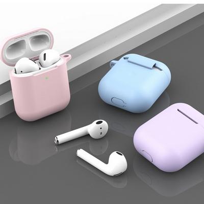 이어폰 악세서리 무선이어폰 에어팟 실리콘 케이스 베이직
