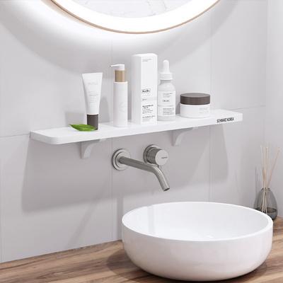 무타공 세면대선반 욕실용품 정리대 욕실선반 4종