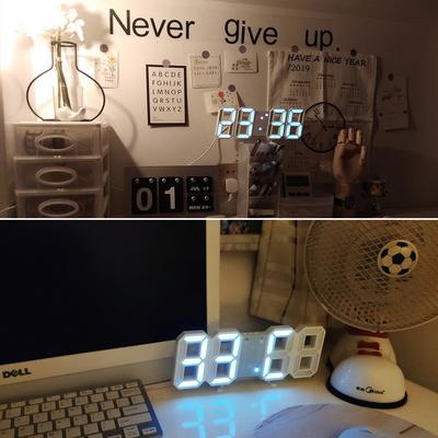 LED 탁상전자시계 디지털 책상시계 알람시계