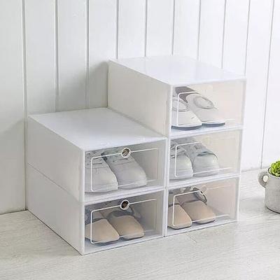 슈즈케이스 신발정리함 조립식 투명 신발장 일반형