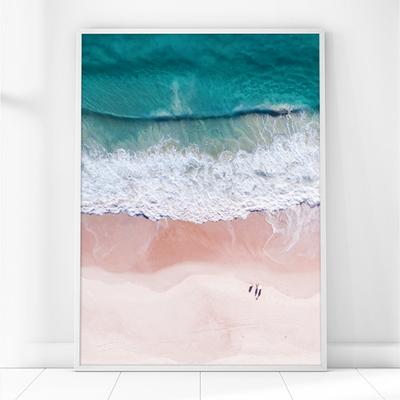 해변 파도 풍경 액자 인테리어 그림 A3(297x420mm) 포스터 (액자미포함)