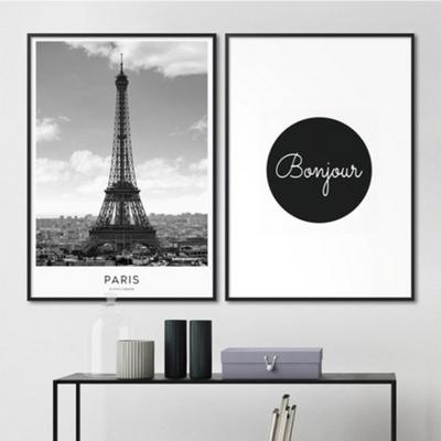 파리 에펠탑 도시 사진 액자 인테리어 그림 A3 포스터 (액자미포함)