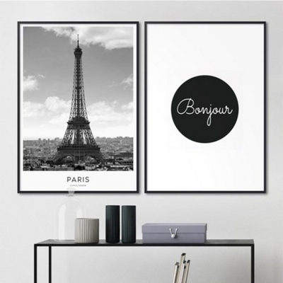 파리 에펠탑 도시 사진 액자 인테리어 그림 A2 포스터 + 알루미늄액자
