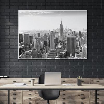 시티스케이프 뉴욕 사진 액자 인테리어 그림 50x70 포스터 + 이케아액자