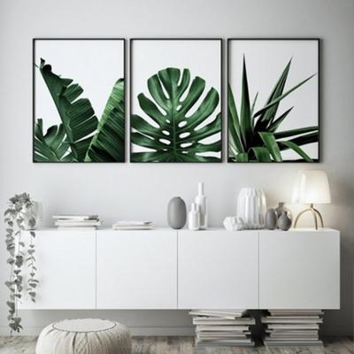 바나나리프 보테니컬 그림 인테리어 액자 A2 포스터 + 알루미늄액자