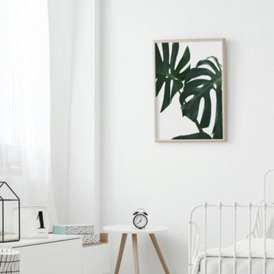 썸머리프 보테니컬 그림 인테리어 액자 50x70 포스터 + 이케아액자