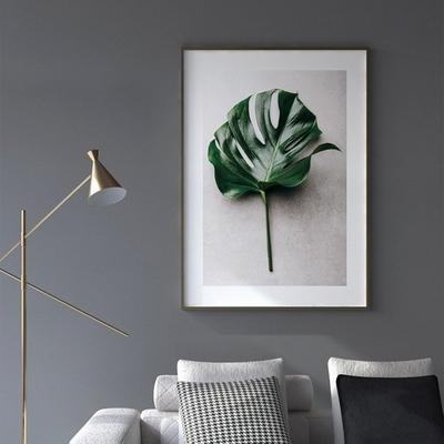 플로어 몬스테라 보테니컬 식물 그림 인테리어 액자 A2 포스터 (액자미포함)
