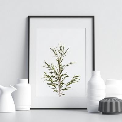 유칼립투스 보테니컬 식물 그림 인테리어 액자 A2 포스터 + 알루미늄액자