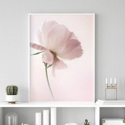작약 꽃 액자 보테니컬 그림 인테리어 A2 포스터 (액자미포함)