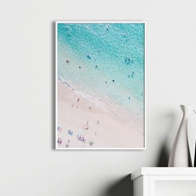 비치피플 바다 풍경 액자 인테리어 그림 A3 포스터 (액자미포함)