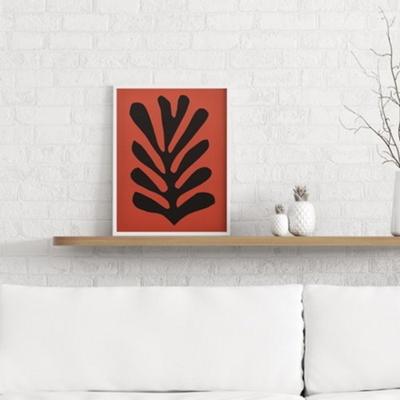 레드리프 앙리마티스 그림 드로잉 인테리어 액자 50x70 포스터 + 이케아액자