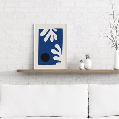 블루리프 앙리마티스 그림 드로잉 인테리어 액자 A2 포스터 + 알루미늄액자