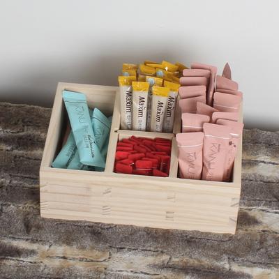 원목 커피 티박스 차정리함 티정리함 커피박스 커피트레이