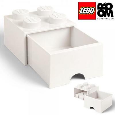 [레고 스토리지] 레고 서랍형 정리함 4구-화이트
