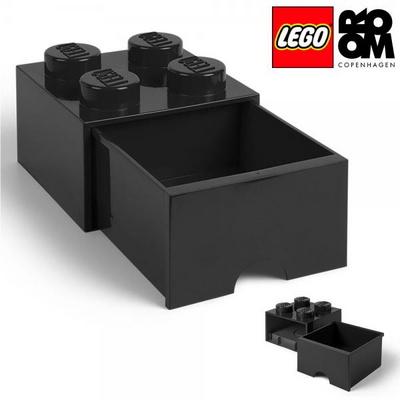[레고 스토리지] 레고 서랍형 정리함 4구-블랙