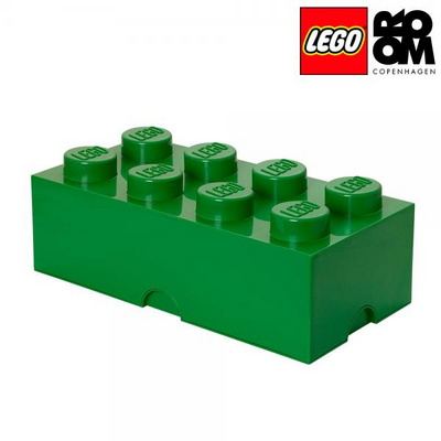 [레고 스토리지] 레고 브릭 정리함 8구-그린