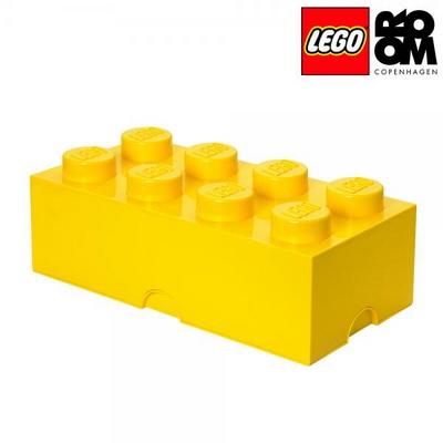 [레고 스토리지] 레고 브릭 정리함 8구-옐로우