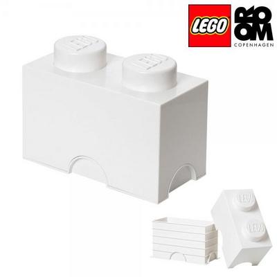 [레고 스토리지] 레고 브릭 정리함 2구-화이트