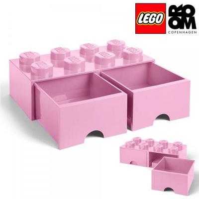 레고 스토리지 레고 서랍형 정리함 8구 라이트퍼플