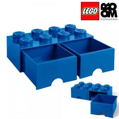 [레고 스토리지] 레고 서랍형 정리함 8구-블루