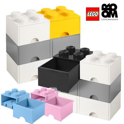 [레고 스토리지] 레고 정품 3단서랍장 화이트 세트 모음전/장난감정리함/수납함