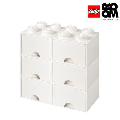레고스토리지 레고 8구3단서랍장세트 화이트