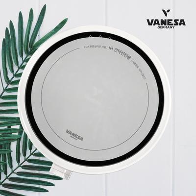 바네사 원형1구인덕션-화이트 + 인덕션 양면보호매트세트
