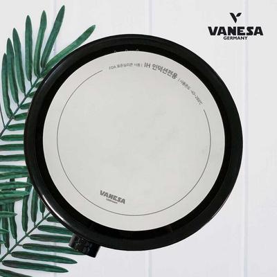 바네사 원형1구인덕션-블랙 + 인덕션 양면보호매트세트