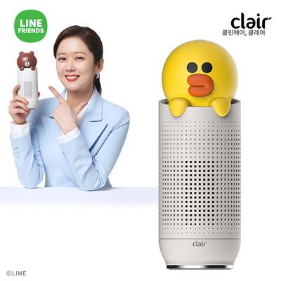클레어 라인프렌즈 샐리 휴대용 공기청정기