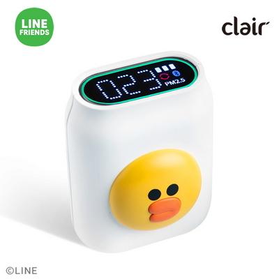 클레어 라인프렌즈 샐리 휴대용 미세먼지 공기 측정기