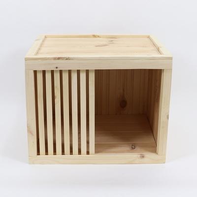 원목 강아지집 박스타입 A 중형 (실내용)