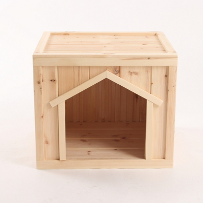 원목 강아지집 박스타입 C 중형 (실내용)