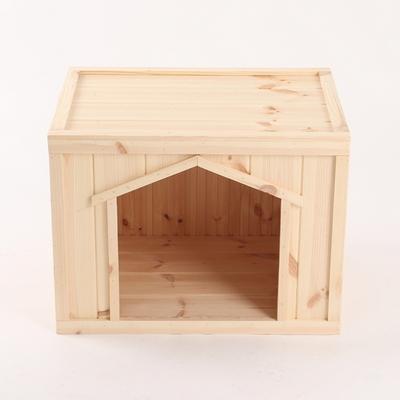 원목 강아지집 박스타입 C 대형 (무도장)