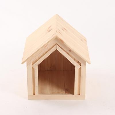 원목 강아지집 하우스타입 A 소형 (실내용)