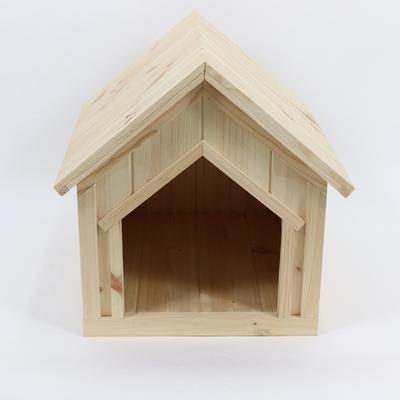 원목 강아지집 하우스타입 A 대형 (실외용)