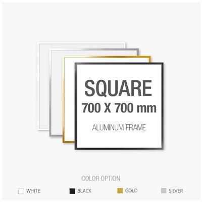 알루미늄 프레임 액자 정사각형 70X70