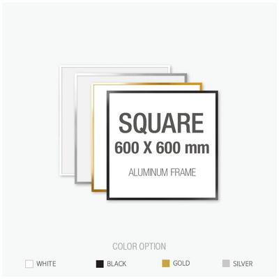 알루미늄 프레임 액자 정사각형 60X60