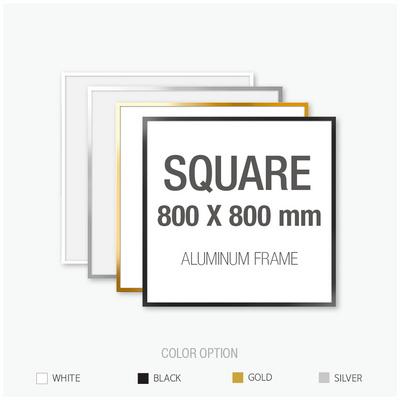 알루미늄 프레임 액자 정사각형 80X80