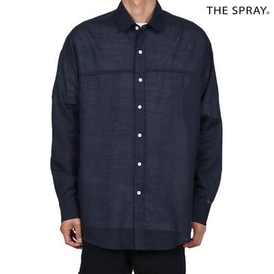SP161 시스루 오버핏 셔츠