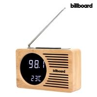 빌보드 LED시계앤 FM라디오 WC-01