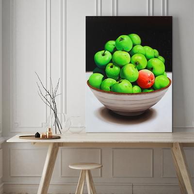 풍요로움의 사과 인테리어 캔버스 그림액자
