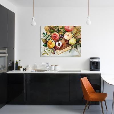 과일상자 수채화 인테리어 캔버스 그림액자