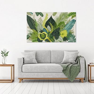 그린보테니컬 일러스트 인테리어 캔버스 식물 그림액자