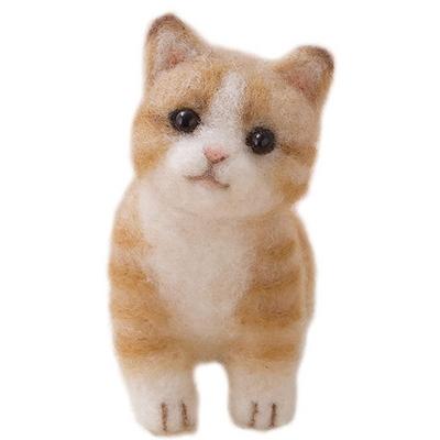하마나카 노란 치즈 고양이 DIY KIT