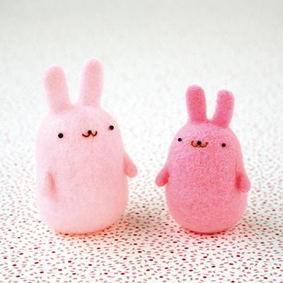 하마나카 니들펠트 아크레루 토끼 DIY KIT