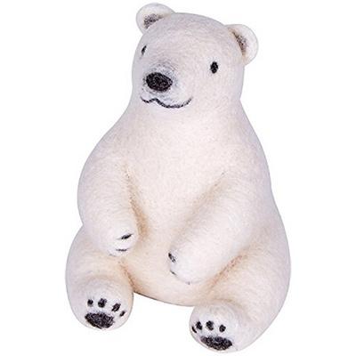 하마나카 니들펠트 북극곰 DIY KIT
