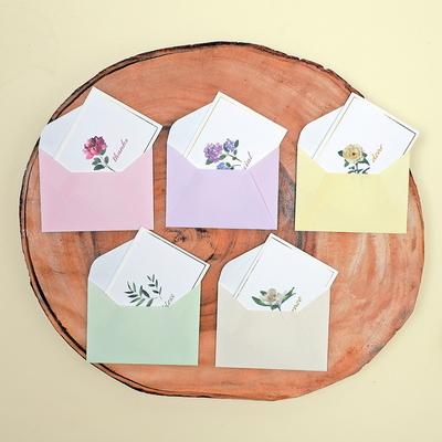 블로썸 축하카드 묶음 (5종 1set)