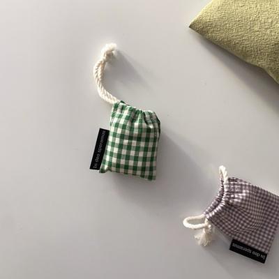 초록체크 에어팟 케이스 (Green check airpods case)