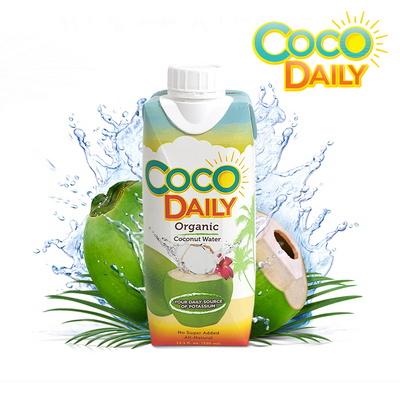 100% 코코넛워터오르지오 코코데일리 유기농 코코넛워터 1박스 12개입